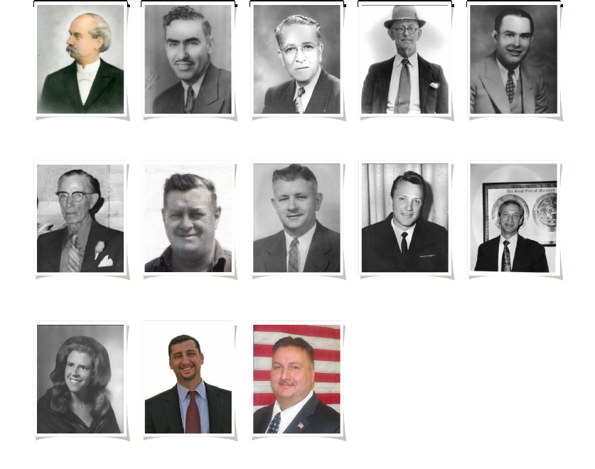 portraits of former mayors