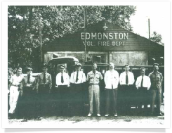 Members of the Edmonston Volunteer Fire Department