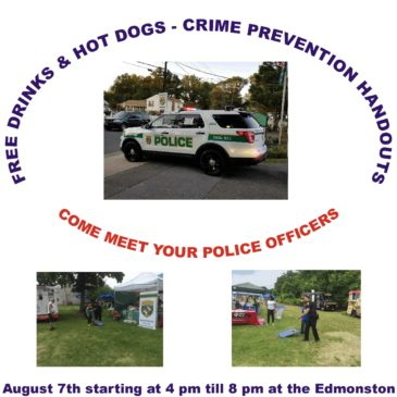 Edmonston Police Department 2018 National Night Out