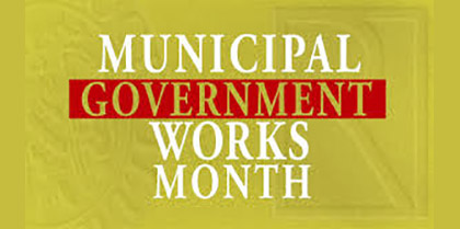 Municipal Government Works Proclamation
