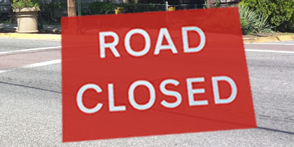 Decatur St. Closed June 17-27