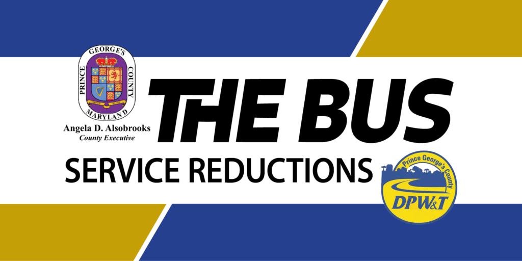 Bus Service Reductions