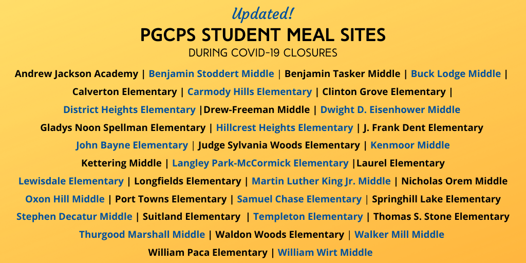 pgcps meal sites
