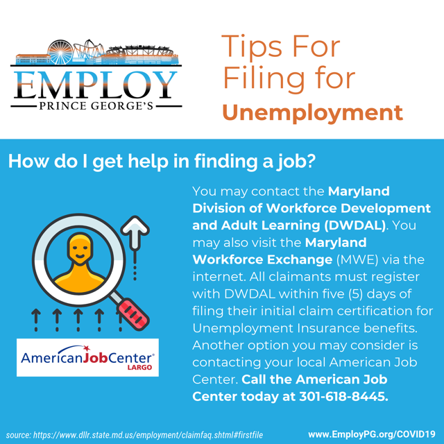 Tips for filing unemployment