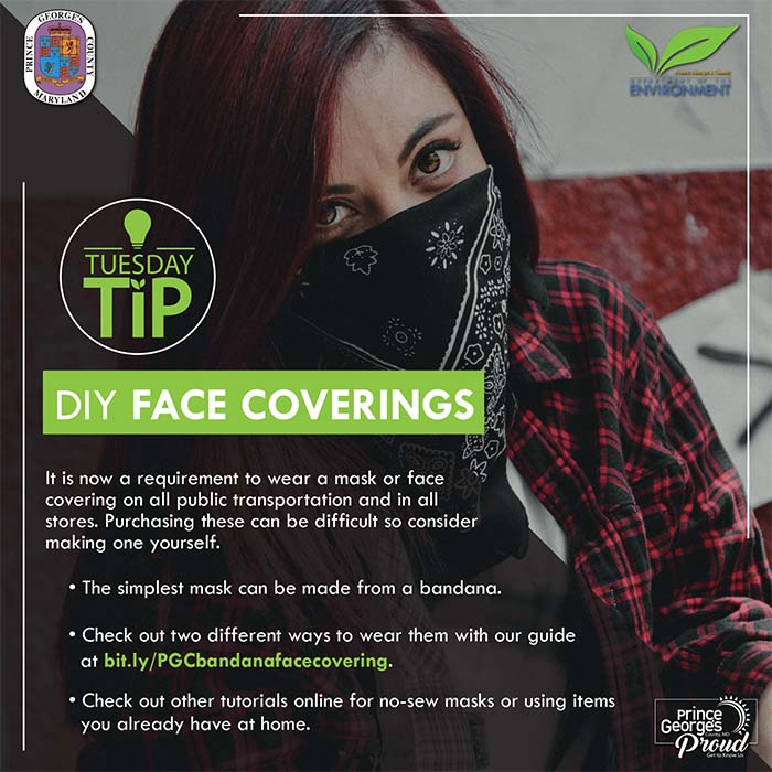 DIY Face Coverings