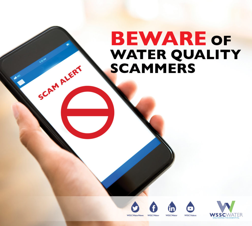 beware of water scammers