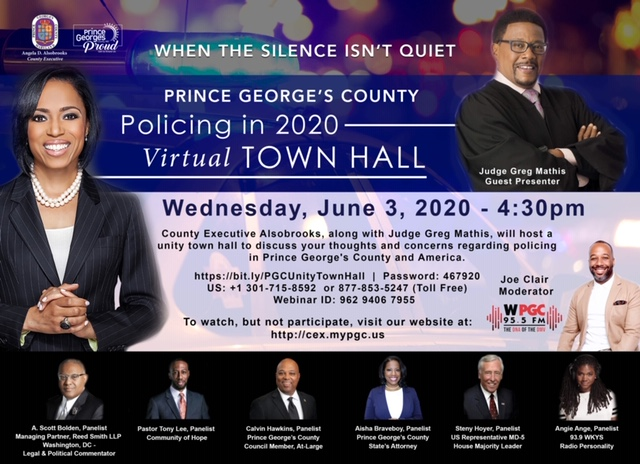 Policing in 2020 Virtual Town Hall