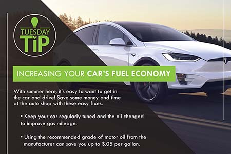 Increasing Your Car's Fuel Economy / Incremente la Economía de Combustible de su Carro