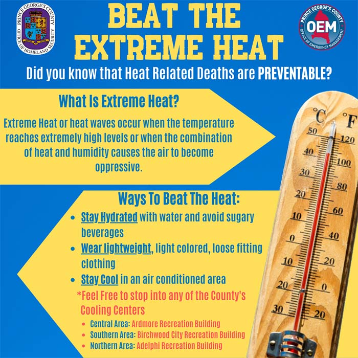 beat the extreme heat