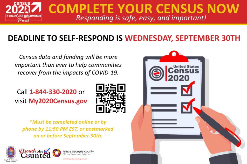 Complete Your Census Now