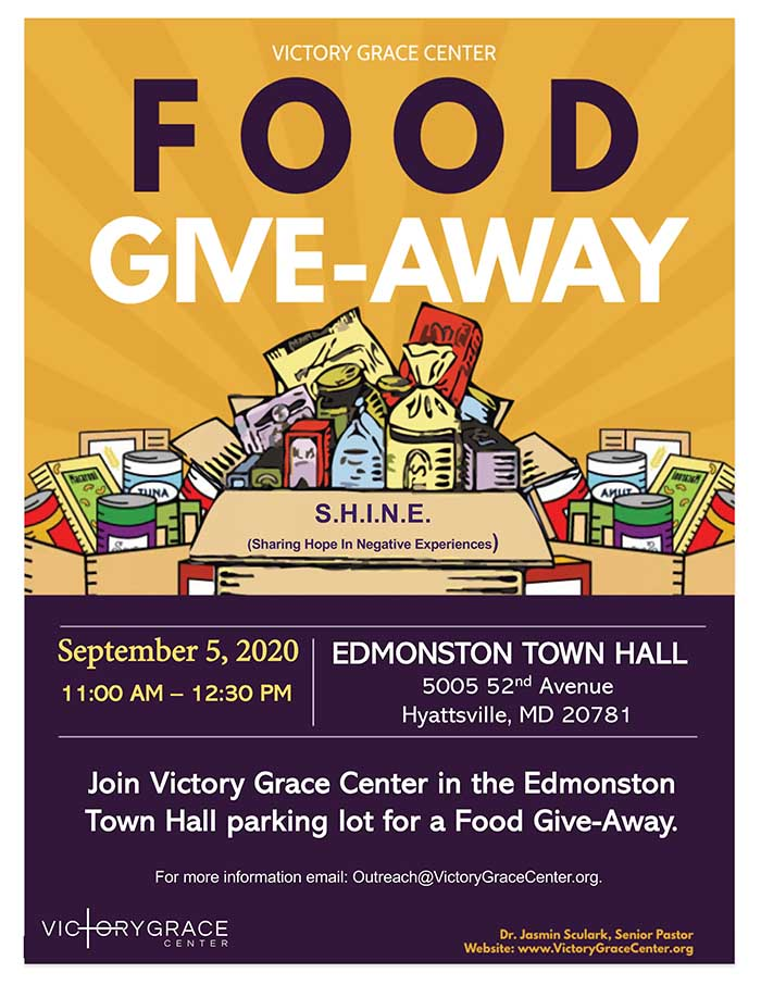 food giveaway sept 5