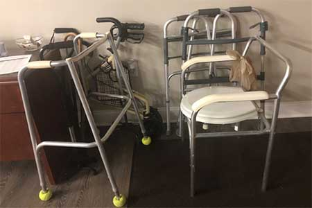 walker and other medical equipment