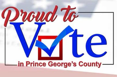 proud to vote in PG county