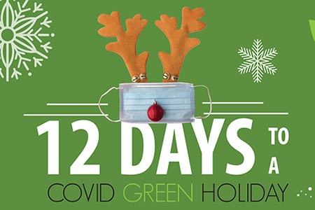 12 Days to a COVID Green Holiday