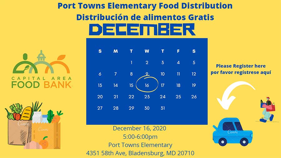 Food distribution Dec 16