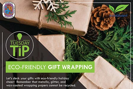 Tuesday Tip: Eco-friendly Gift Wrapping