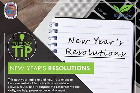 Tuesday Tip: New Year's Resolutions