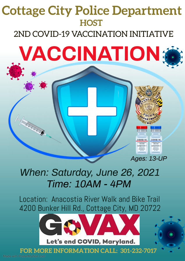 vaccination June 26 10am-4pm