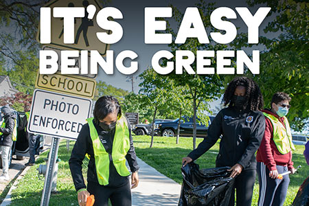 It's Easy Being Green-Learn What You Can Do